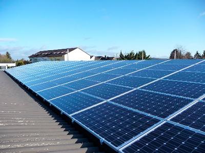 Hallenbau Photovoltaik